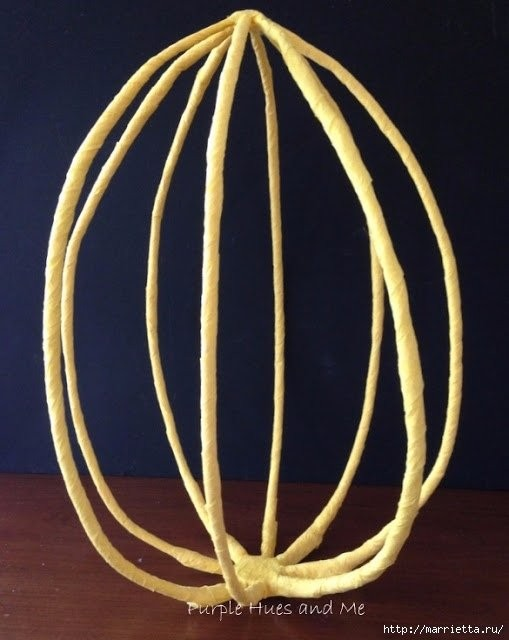 Пасхальный декор, который легко создается руками ребенка
