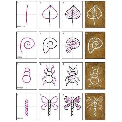 Рисуем с детьми разные элементы