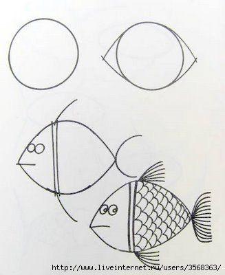 Рисуем животных с малышами