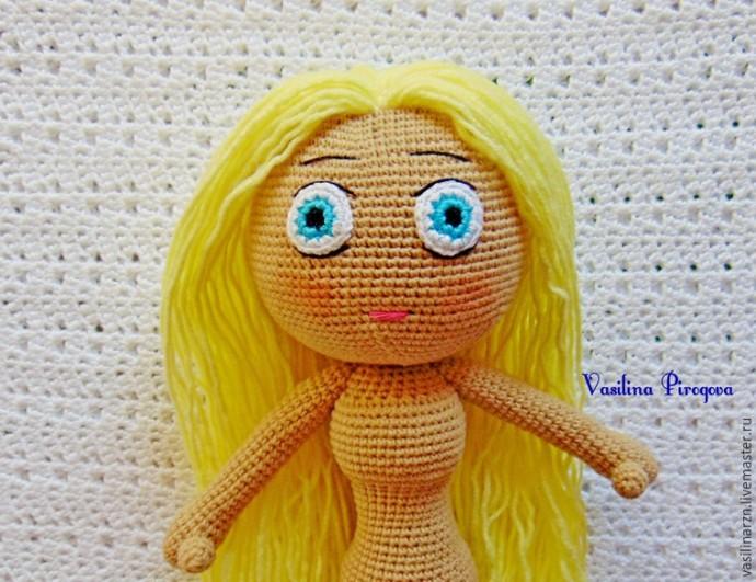 Как оформить лицо куколке 0