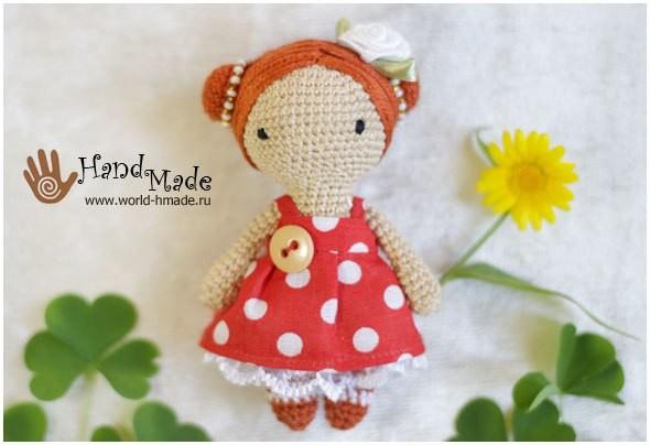 Вязаная куколка 7