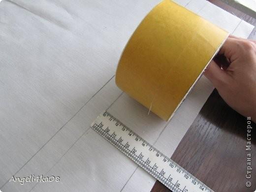 Шкатулка детскими руками из бобины от скотча