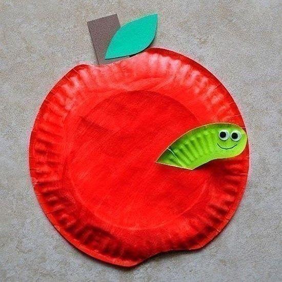 Идеи для поделок из одноразовых тарелок с детьми