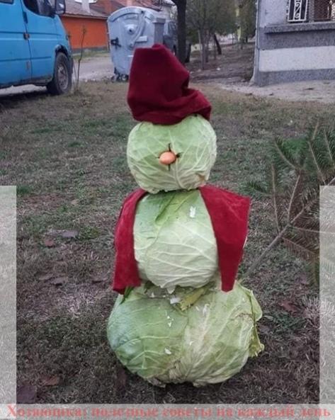 Как сделать с детьми снеговика, если нет снега 0