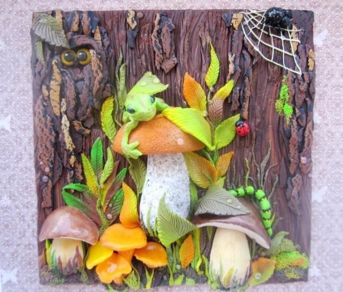 "Лепка ""Осенние грибочки"""