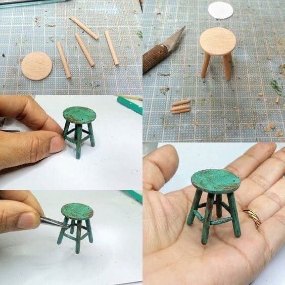Маленький стул для кукол