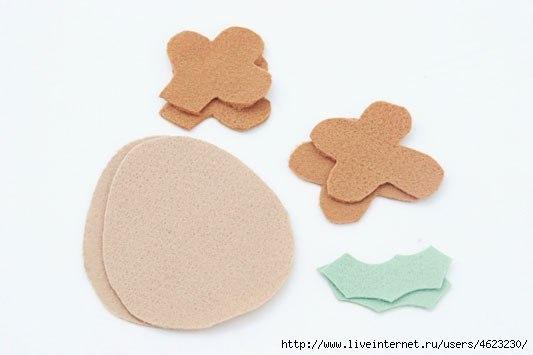 Мягкая игрушка детскими руками 1