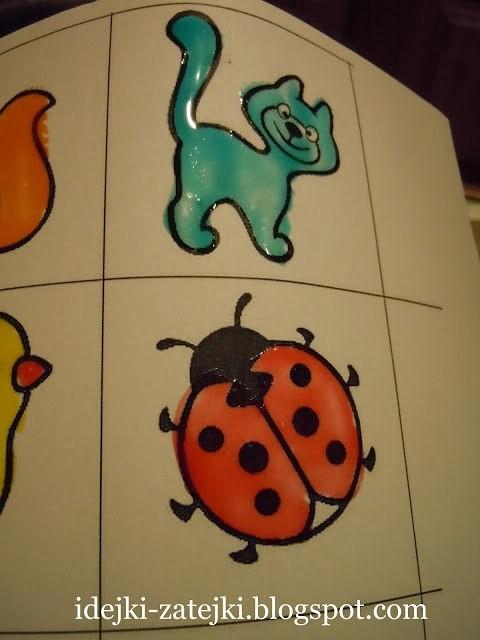 Создаем глянцевые рисунки с детьми