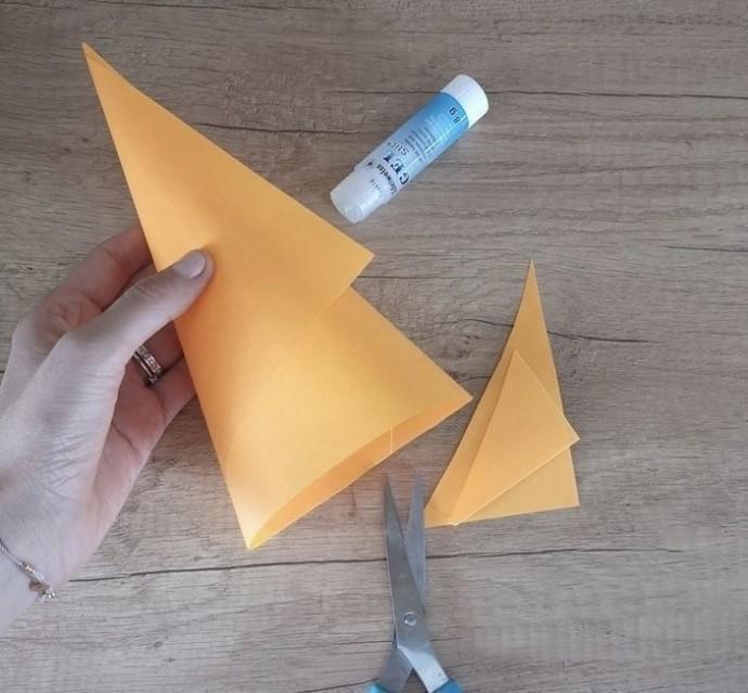 Белка из бумаги