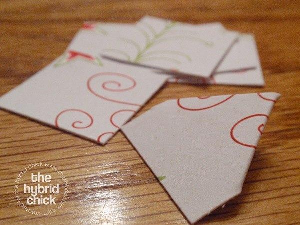 Бумажные шишки: мастер-класс 2