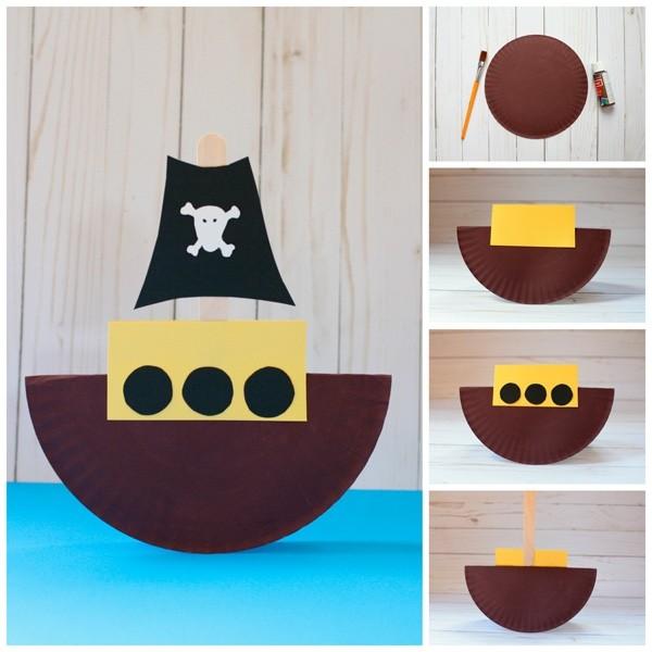 Пиратский кораблик