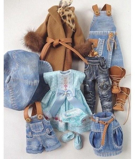 Шьем кукольные наряды