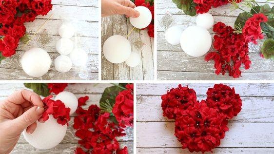 Очаровательный шар из роз
