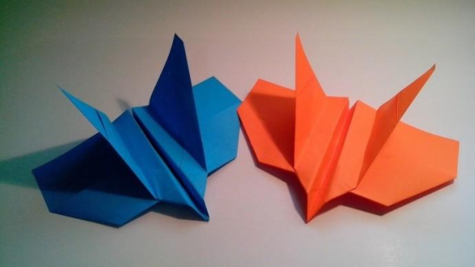 Самолетик-оригами 4