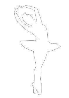 Балерины из бумаги с пачками из фатина