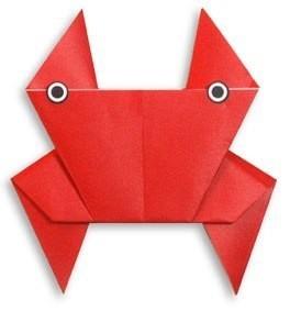 Морские обитатели в технике оригами