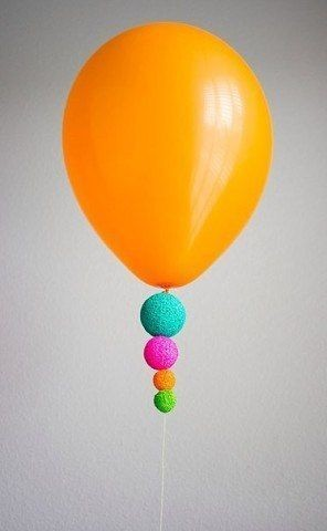 Украшения для воздушных шариков