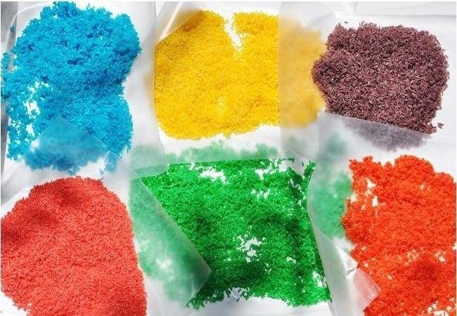 Как сделать цветной рис для детского творчества