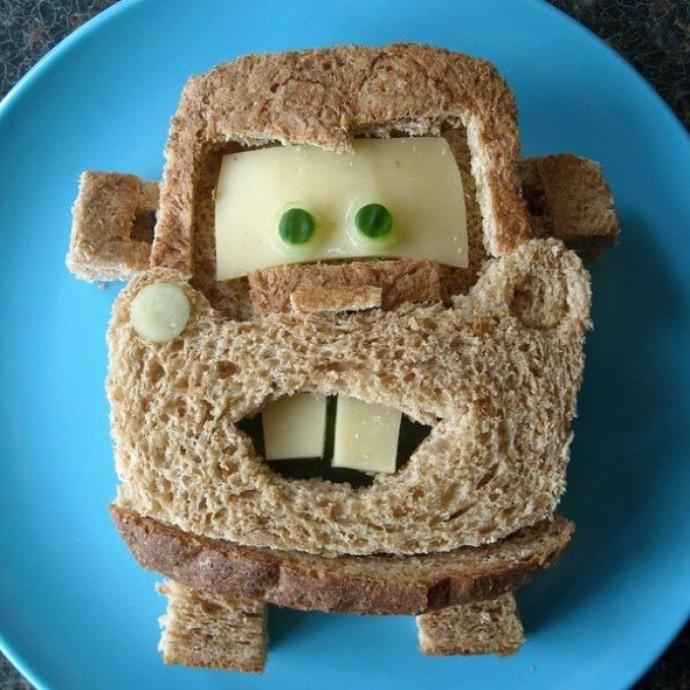 Необычные бутерброды для детей