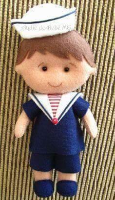 Очаровательные куколки из фетра 7