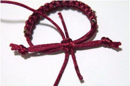 Плетём браслет 4