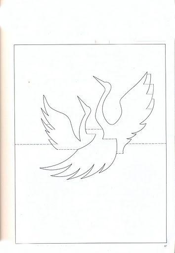 Прорезные объемные открытки 1
