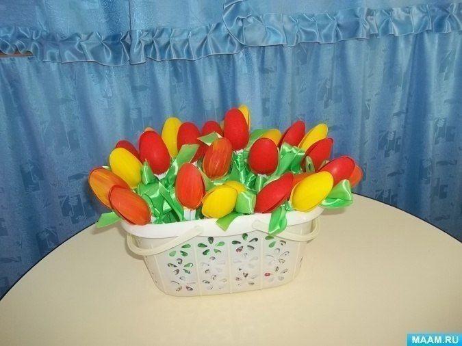 Тюльпаны для любимой мамочки