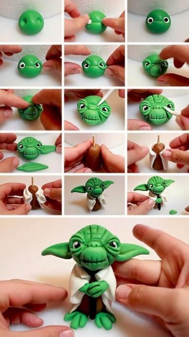 Пластилиновые игрушки 5