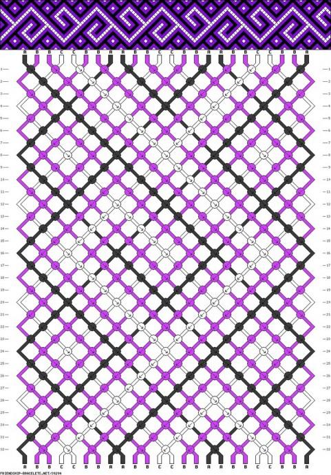 Плетеные браслеты-фенечки 1