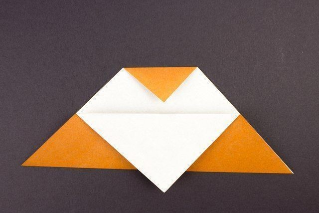 Совушка в технике оригами