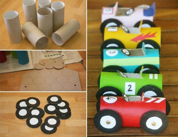 Поделки из картонных втулок: идеи