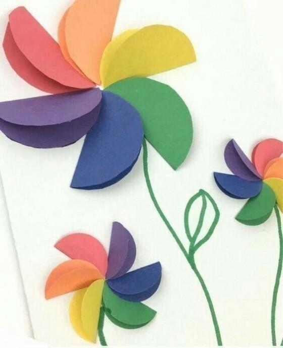 Цветочные аппликации: идеи 8