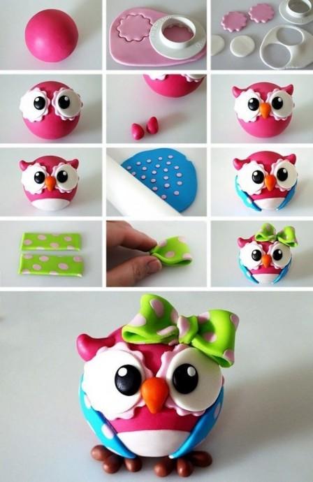 Пластилиновые игрушки 3