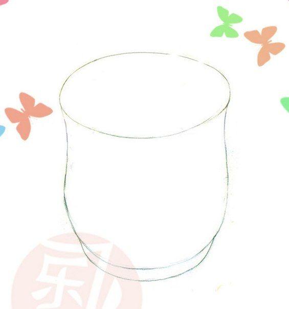 Урок рисования: ваза с конфетками