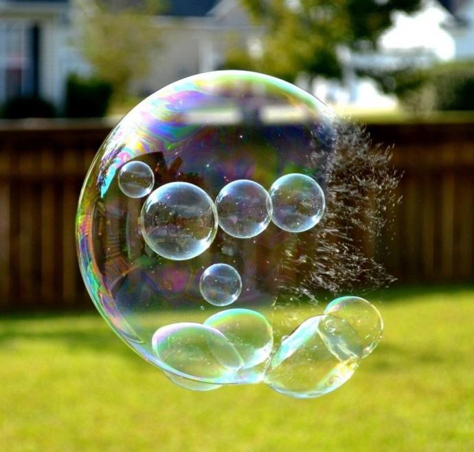 Делаем с детьми лучшие мыльные пузыри
