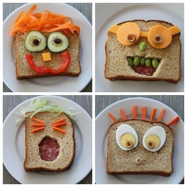 Рукоделие из бутербродов