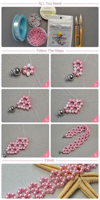 Очаровательный браслет для девочки