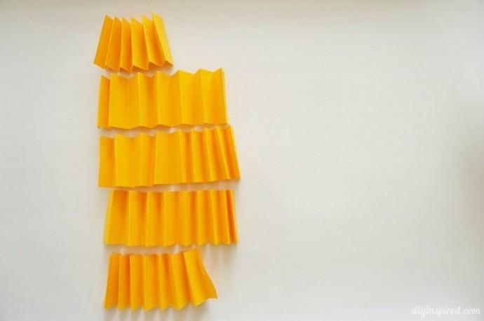Декор к Хэллоуину: бумажные тыковки