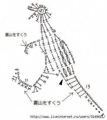 Вязаные миниатюры животных