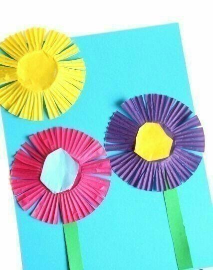 Цветочные аппликации: идеи 1