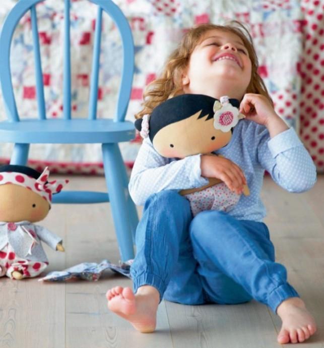 Кукла Тильда в виде малышки