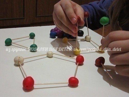 Игры с пластилином