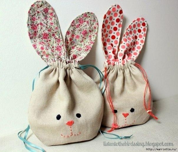Мешочки-кролики