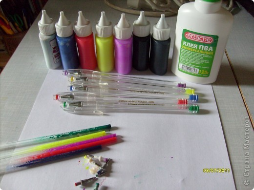 Как сделать витражную краску для ребенка 4