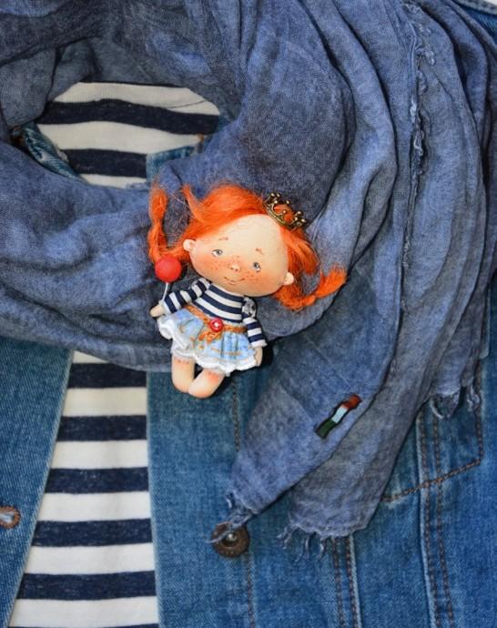 Куколка в мини размере