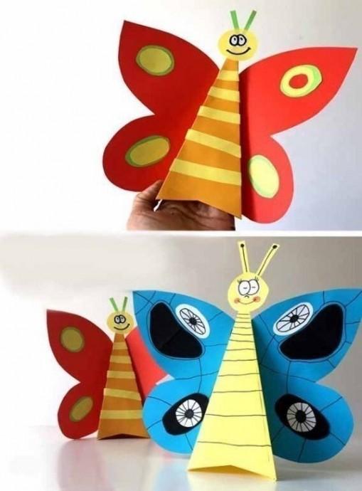 Объемная бабочка