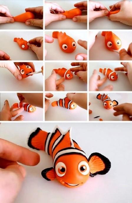 Пластилиновые игрушки 6