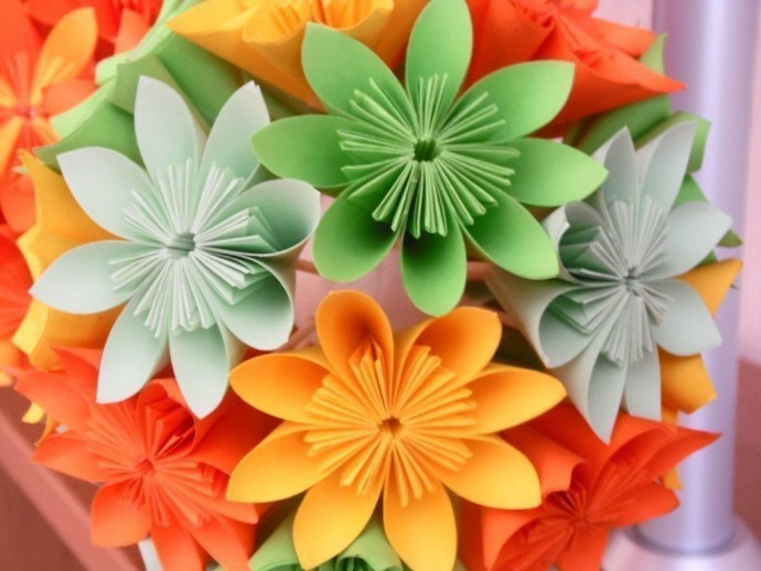 Цветы-оригами