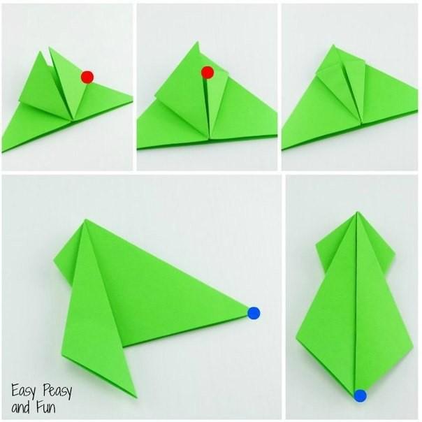 Лягушки-оригами