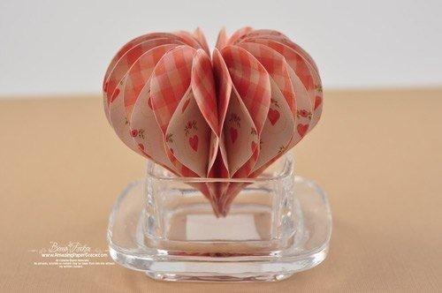 Оригинальная композиция из сердечек